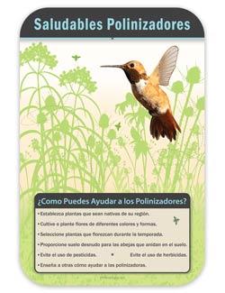 pollinator habiat signs wildlife